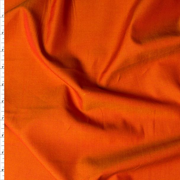 Pumpkin 'Greenwich' Fine Chambray by Robert Kaufman Fabric By The Yard