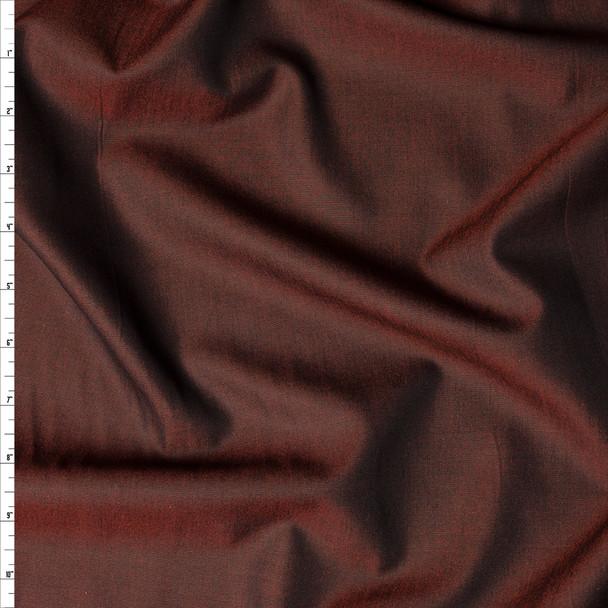 Cayenne 'Greenwich' Fine Chambray by Robert Kaufman Fabric By The Yard