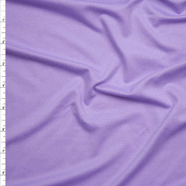 Lavender Double Brushed Poly Spandex Knit Fabric By The Yard