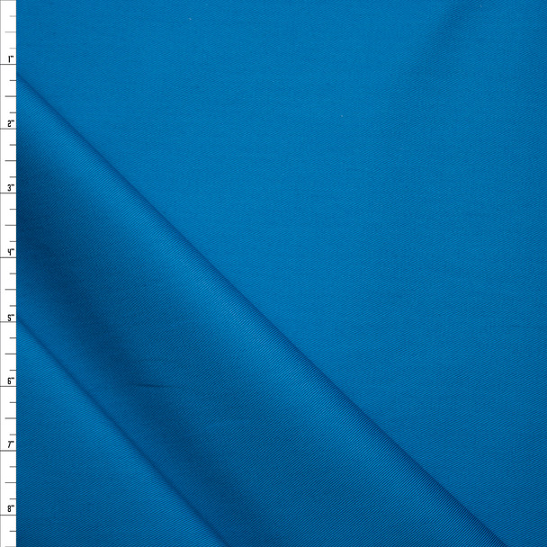 Bright Teal Hampton Cotton Twill by Robert Kaufman Fabric By The Yard