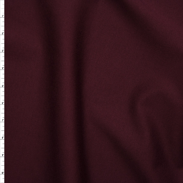 Wine Heavyweight Ponte De Roma Fabric By The Yard