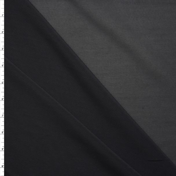 Black Shaper Mesh Fabric By The Yard