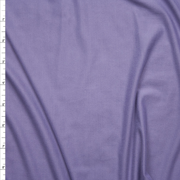 Dusty Lavender Double Brushed Poly Spandex Knit Fabric By The Yard