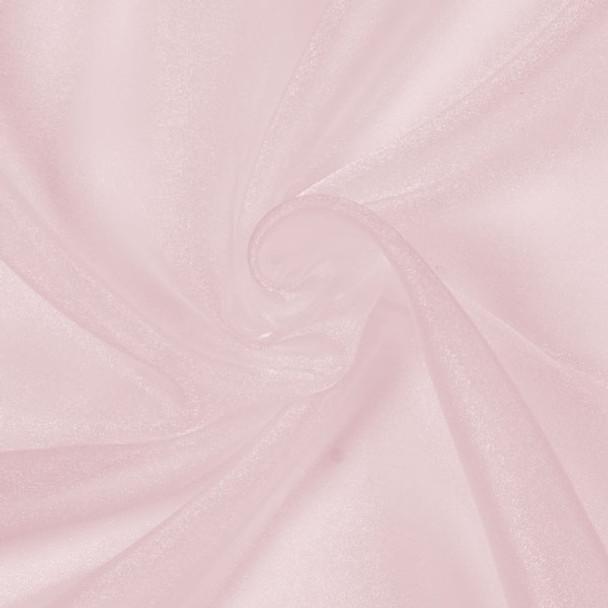 Pink Sparkle Organza