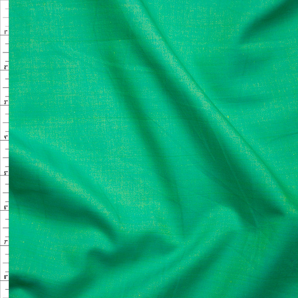 'Leaf' Green Greenwich Chambray from Robert Kaufman Fabric By The Yard