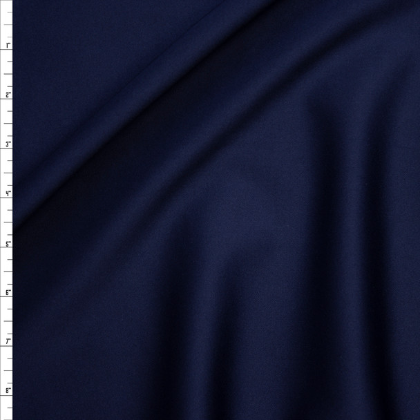 Solid Navy Scuba Knit Fabric By The Yard
