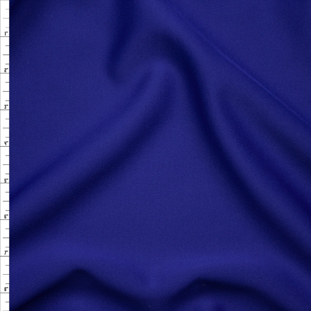 Solid Royal Blue Scuba Knit Fabric By The Yard