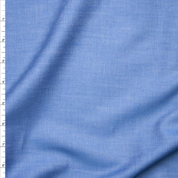 Light Blue Lightweight Tencel Denim Fabric By The Yard