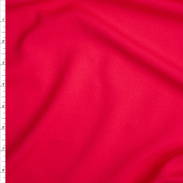 Hot pink Liverpool Knit Fabric By The Yard