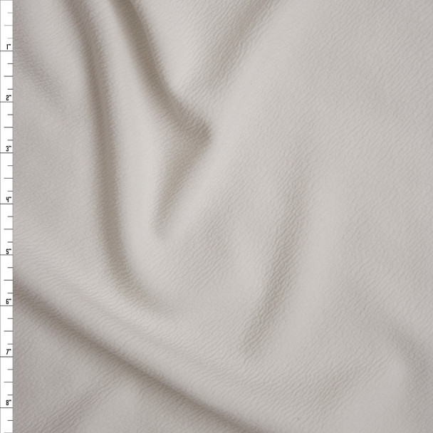 Offwhite Liverpool Knit Fabric By The Yard