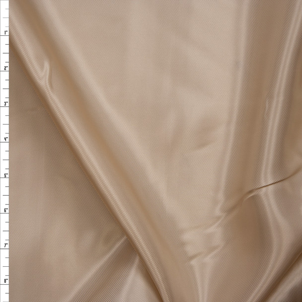 Tan Rayon Lining Fabric By The Yard