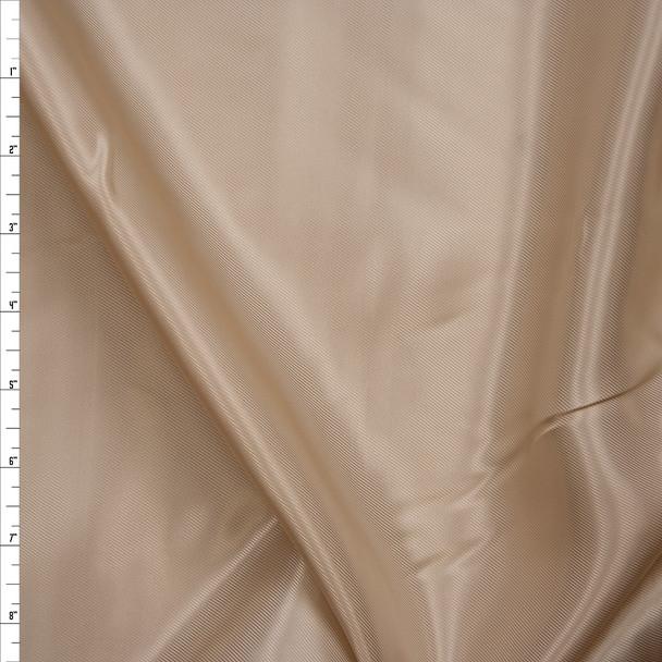 Tan Rayon Lining Fabric By The Yard