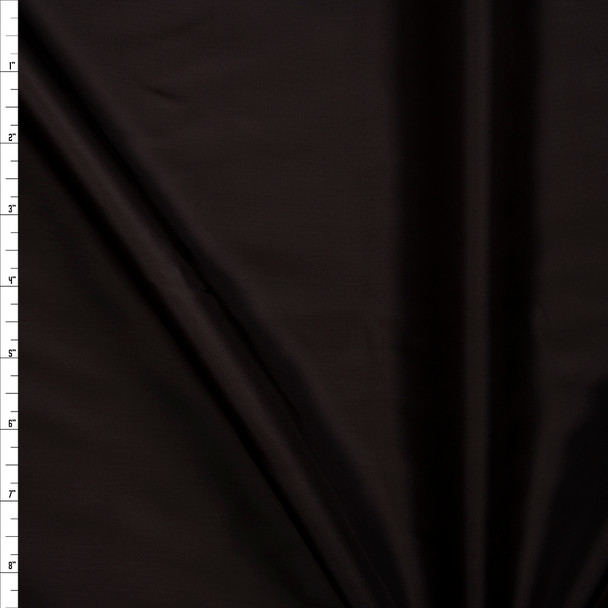 Dark Brown Rayon Lining Fabric By The Yard