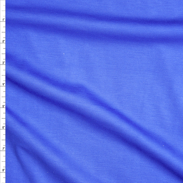 Royal Blue Lightweight Ponte De Roma Fabric By The Yard