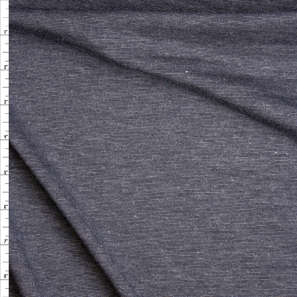 Charcoal Midweight Ponte De Roma Fabric By The Yard