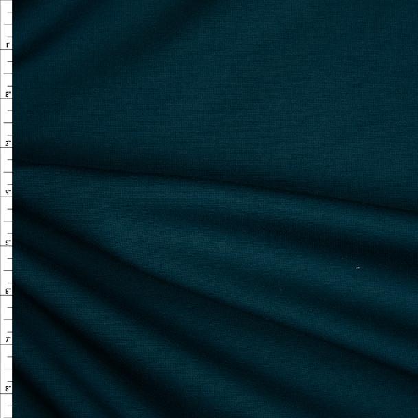 Emerald Heavyweight Stretch Ponte De Roma Fabric By The Yard