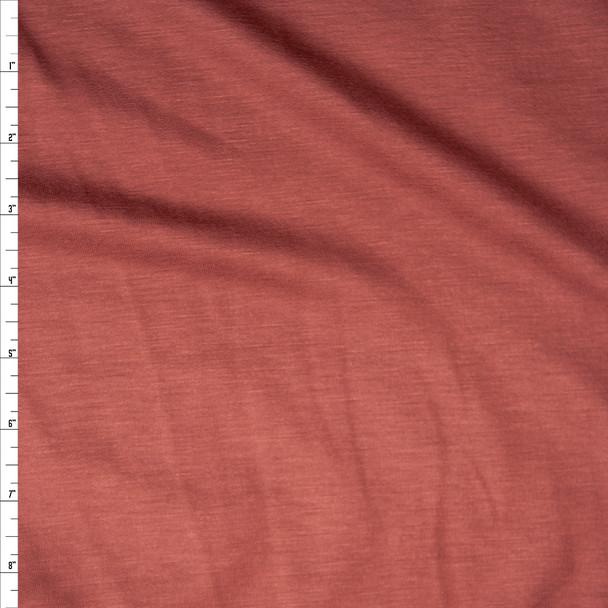 Cinnamon Stretch Lightweight Sweatshirt Fleece Fabric By The Yard