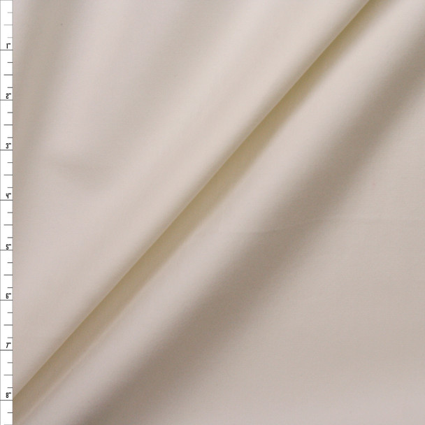 Offwhite Heavyweight Stretch Ponte Fabric By The Yard