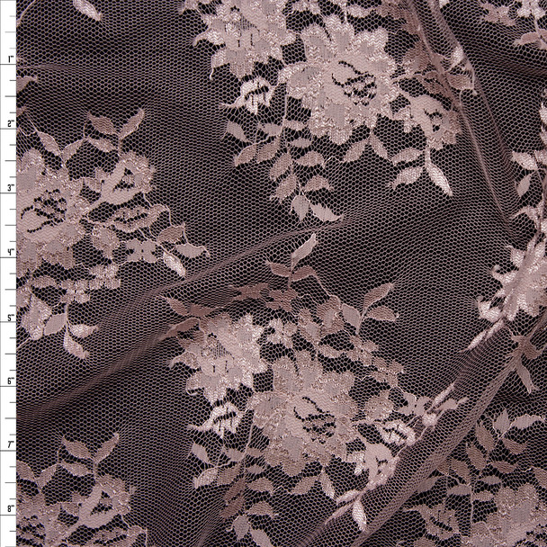 Blush Chantilly Lace Fabric By The Yard