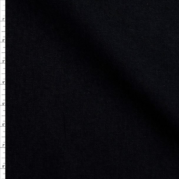 Dark Blue 10 oz Designer Stretch Denim Fabric By The Yard