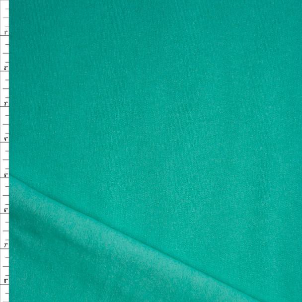 Mint Green Midweight Sweatshirt Fleece Fabric By The Yard