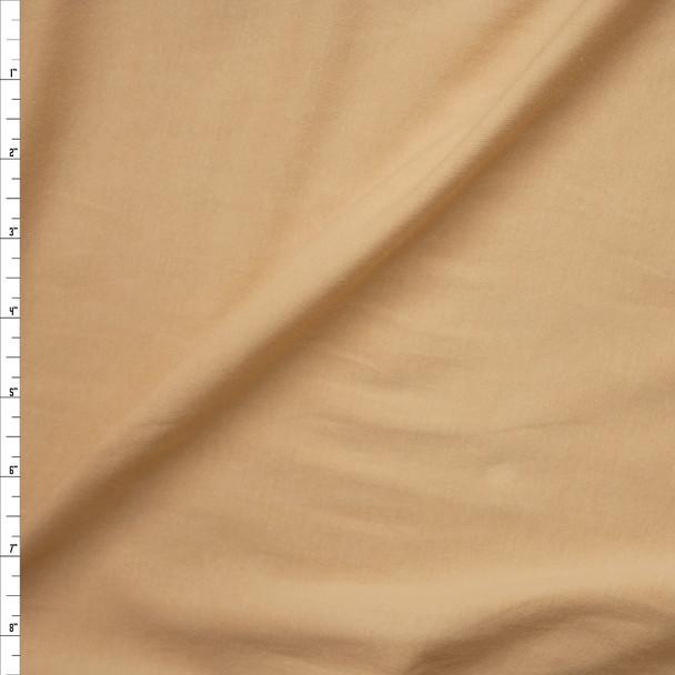 Tan Premium Midweight Cotton Lycra Jersey Knit