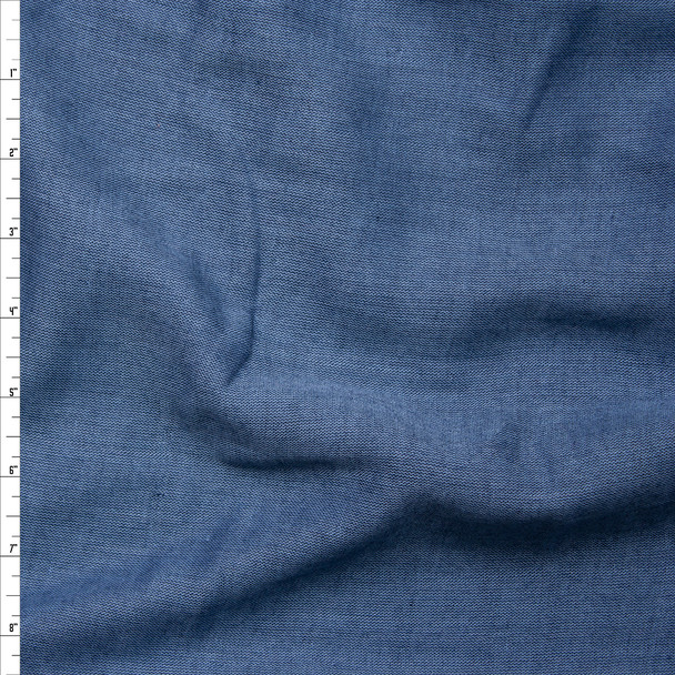 Marine Chambray Double Gauze from 'Robert Kaufman' Fabric By The Yard