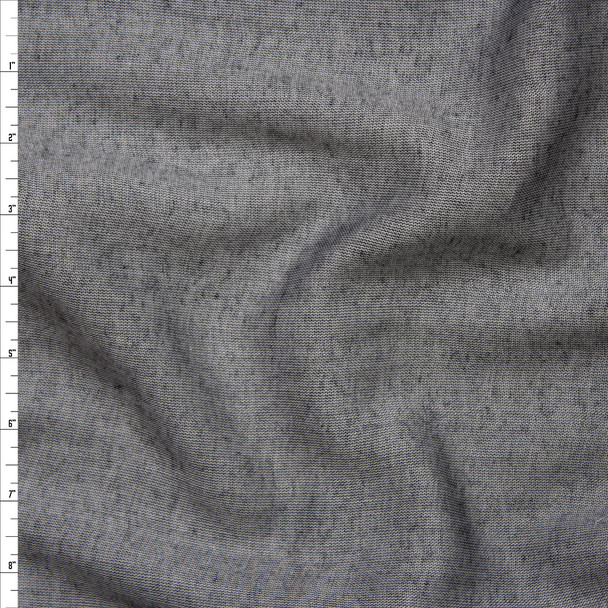 Grey Chambray Double Gauze from 'Robert Kaufman' Fabric By The Yard