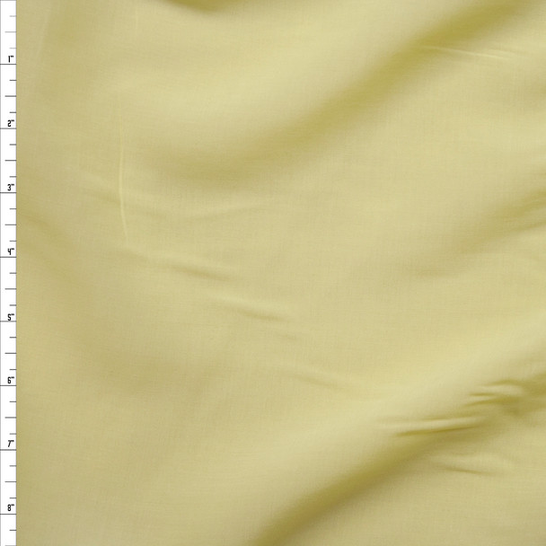 Baby Yellow Rayon Challis Fabric By The Yard
