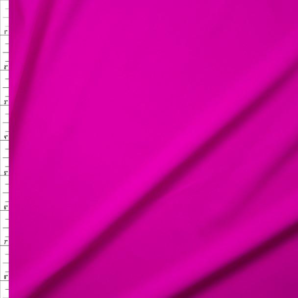 Neon Fuschia Premium 5.8oz Nylon/Spandex Fabric By The Yard