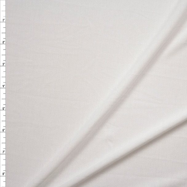 White Sand Washed Poly/Modal Jersey Knit Fabric By The Yard