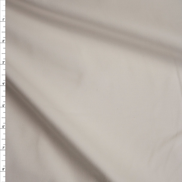 Offwhite Midweight Stretch Corduroy Fabric By The Yard