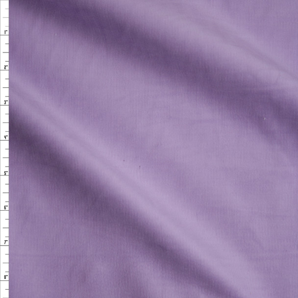 Lavender Light Midweight Corduroy Fabric By The Yard