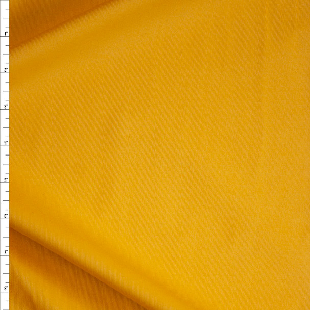 Bright Yellow Lightweight Corduroy Fabric By The Yard
