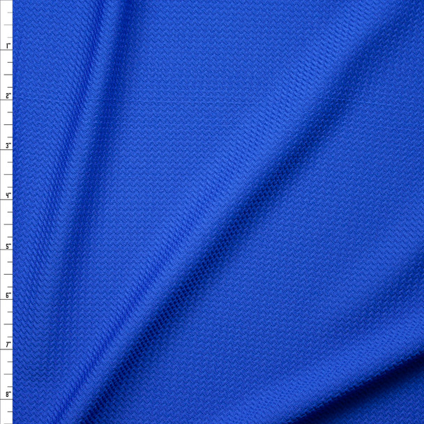 Solid Cobalt Liverpool Knit Fabric By The Yard