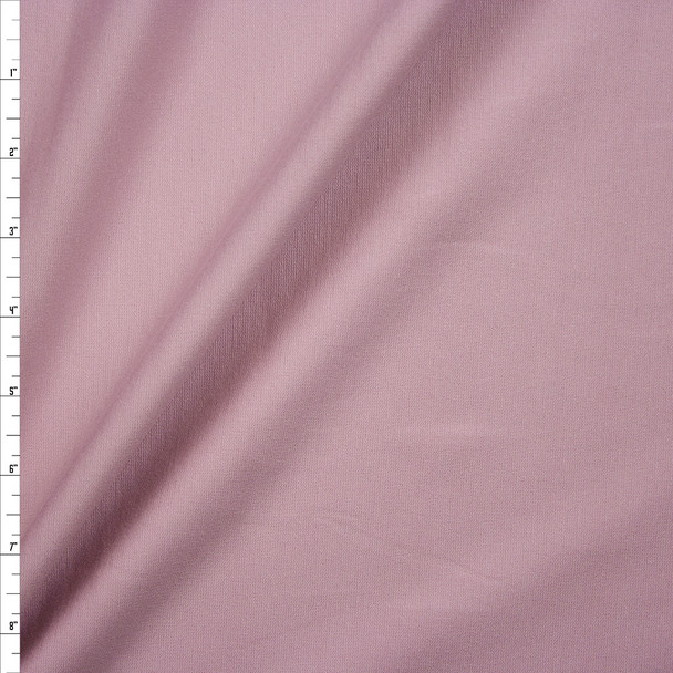 Dusty Blush Heavyweight Stretch Ponte De Roma Fabric By The Yard