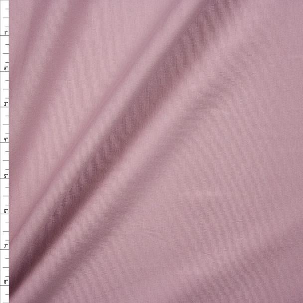 Dusty Blush Heavyweight Stretch Ponte De Roma Fabric By The Yard