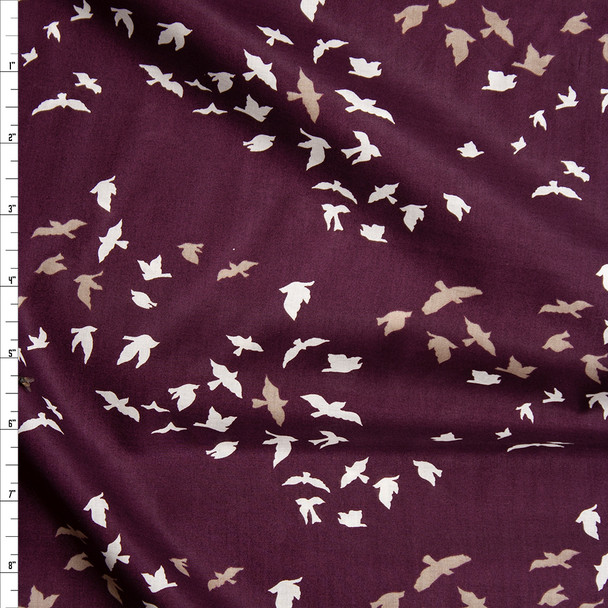 """""""Chatter Dim"""" Cotton Lawn Print from Art Gallery Fabrics Fabric By The Yard"""