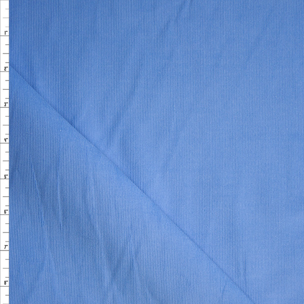 Sky Blue Baby Wale Corduroy Fabric By The Yard