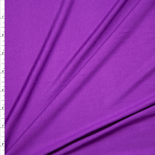 Purple Stretch Modal Jersey Knit Fabric By The Yard