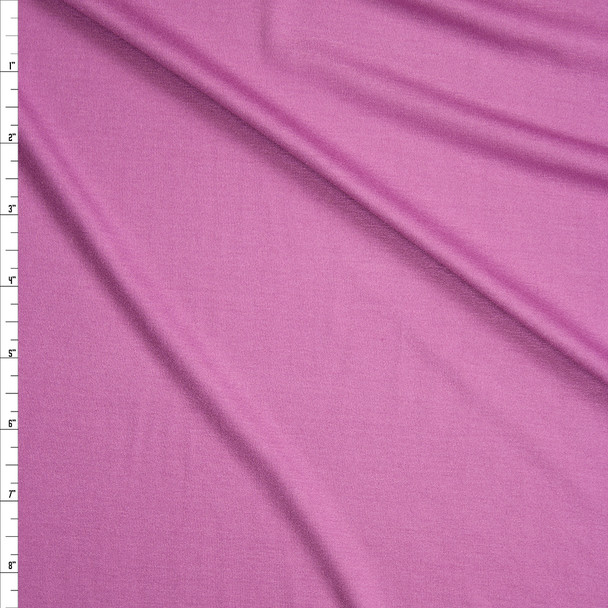 Orchid Stretch Modal Jersey Knit Fabric By The Yard
