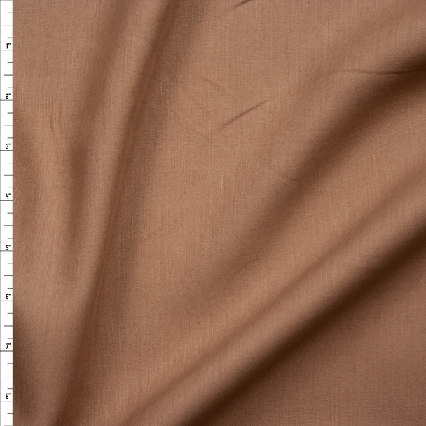 Cappuccino Midweight Rayon/Linen Blend Fabric By The Yard
