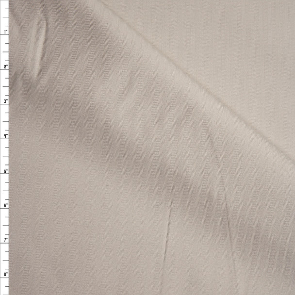 Light Tan Vertical Stripe Suiting Fabric By The Yard