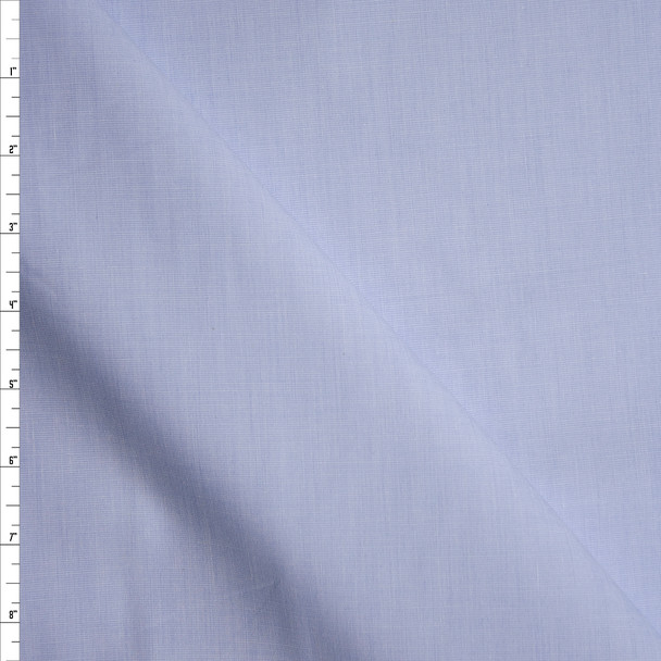 Pale Blue End-on-End Cotton Shirting from 'Brooks Brothers' Fabric By The Yard