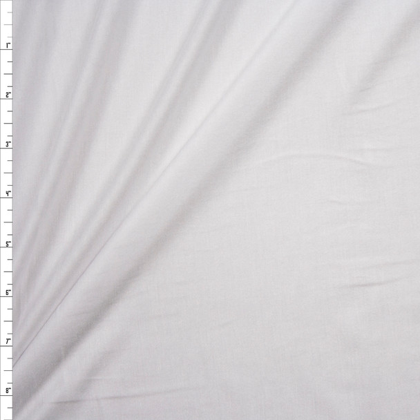 White Designer Rayon Jersey Knit Fabric By The Yard