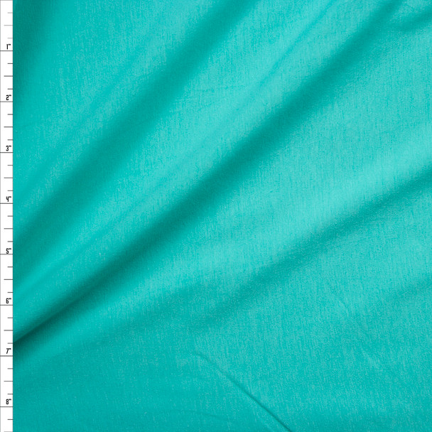 Mint Green Stretch Closeout Cotton Jersey Knit Fabric By The Yard