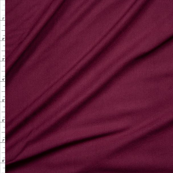 Wine Closeout Rayon Jersey Knit Fabric By The Yard