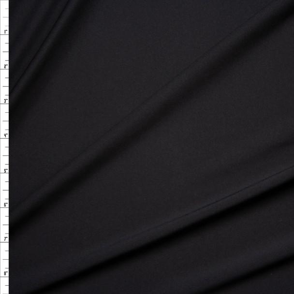 Black Closeout Rayon Jersey Knit Fabric By The Yard