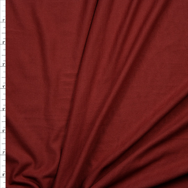 Cinnamon Double Brushed Poly Spandex Knit Fabric By The Yard