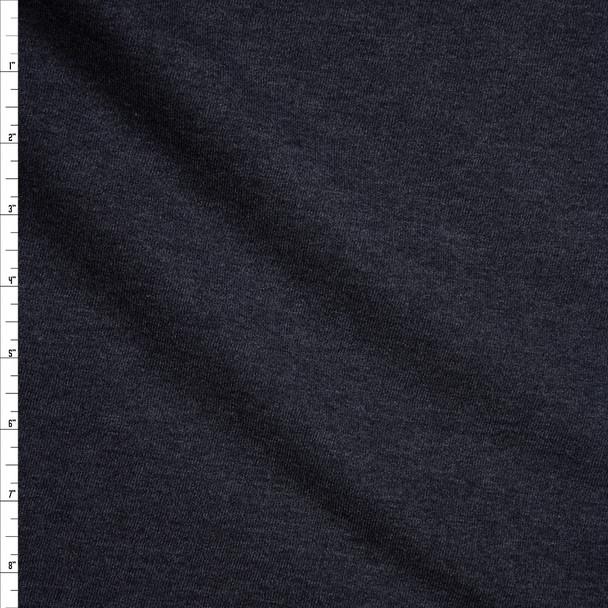 Charcoal Sweatshirt Fleece Fabric By The Yard